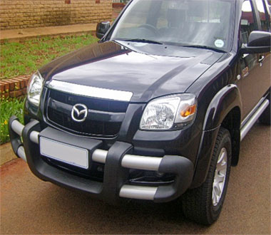 Buy Mazda BT50 Guard Front Bumper Mild Steel Silver