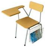 Buy Student Chair with side arm