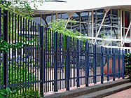 Buy Steel Palisade Fencing