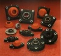 Buy Bearing supports with thermoplastic housing