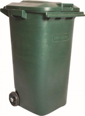 Buy 240Lt Bin on Wheels c/w Lid