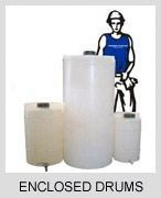 Buy Plastic Enclosed Drums
