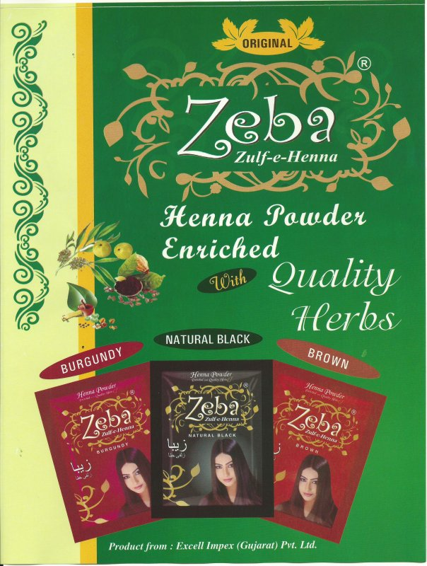 Buy Zeba Herbal Hair color