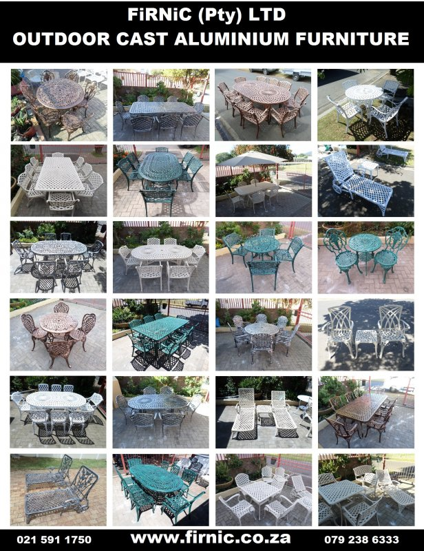 Buy Cast Aluminium Outdoor Patio Garden Furniture