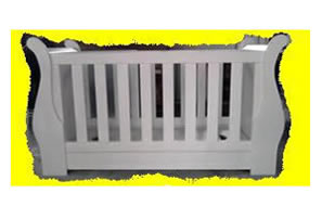 Buy Sleigh Cot Straight Base