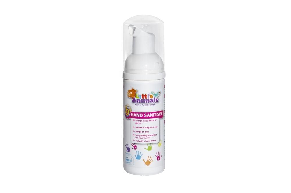 Buy Little Animals Hand Foam Sanitiser 50ml