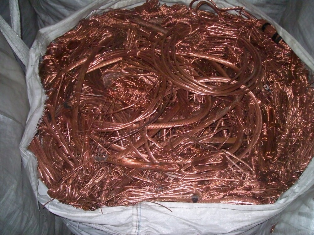 HIGH PURITY 99% COPPER WIRE SCRAP/ PURE MILLIBERY