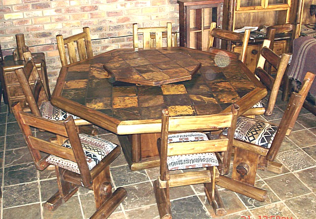 Six Sided Slate Dining Room Table Buy In Pretoria - Six sided table
