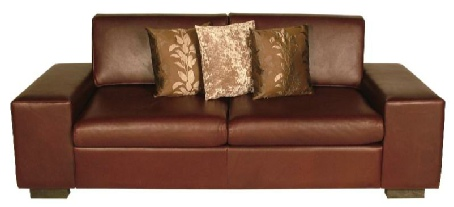Buy Ghia Division Leather Sofa