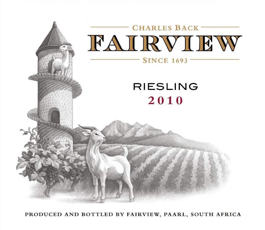 Buy Fairview Riesling 2010 Wine