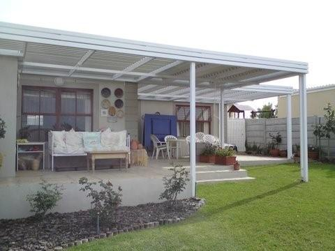 Adjustable Aluminium Louvre Patio Awnings