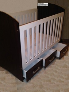 Two Tone Baby Cots