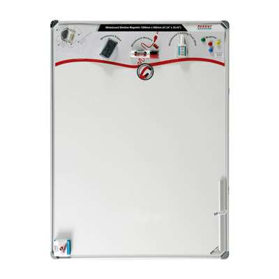 Buy Parrot White Board, Slim Line, Magnetic Surface, 1200x900mm