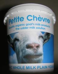 Petite Chèvre yoghurt