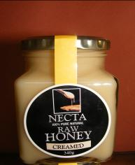 340g Raw Creamed Honey Jar
