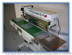 Hanato EX700 HP Continous Band Sealer
