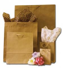 Natural Kraft Giant Paper Carrier Bags