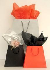 Medium Tapered Bag (Black)