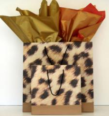 Leopard Bags (Large)