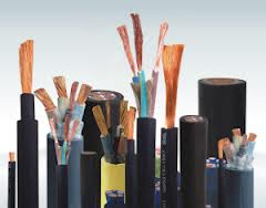 High voltage cross linked polyethylene cables