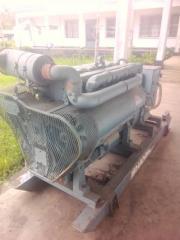 Scrap industrial generator