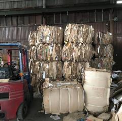 Líneas de separación de basura