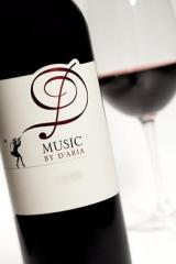 Music By D'aria Red Wine