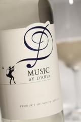 Music By D'aria White Wine