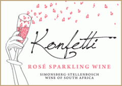 Knorhoek Konfetti Sparkling Rosé 2010 Wine