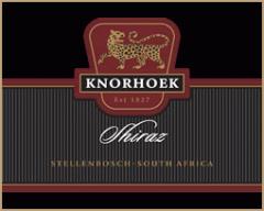 Knorhoek Shiraz 2006 Wine