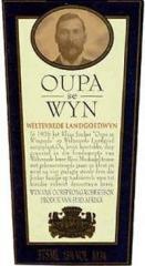 Weltevrede Cape Muscat 2001 Wine