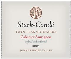 Stark-Condé Twin Peak Vineyards Cabernet Sauvignon