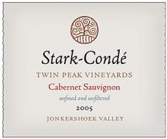 Stark-Condé Twin Peak Vineyards Cabernet Sauvignon