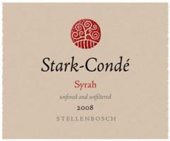Stark-Condé Stellenbosch Syrah 2008 Wine