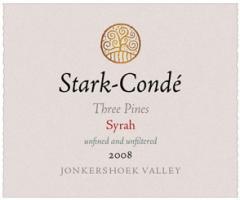 Stark-Condé Three Pines Jonkershoek Syrah 2008