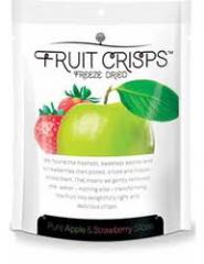 Freeze-dried apple & strawberry