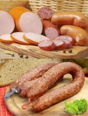 Continental Raw and Smoked Sausages