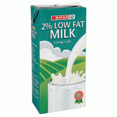 2% Low Fat Long Life Milk