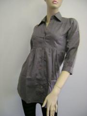 Hemporium smart shirt in Grey small