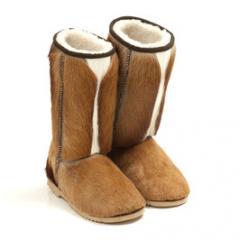 Springbok Fur Boots
