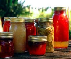 Canned Fruit And Jams