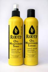 Roots Oil Moisturiser Lotion