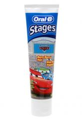Oral-B Stages Disney Pixar Cars Toothpaste