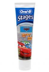 Oral-B Stages Disney Pixar Cars Toothpaste