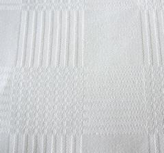 100% Cotton Block Check Damask Serviettes