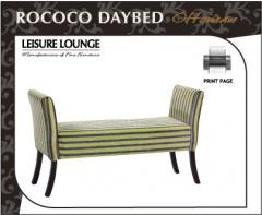 Rococo daybed