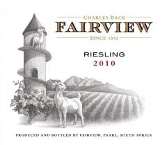 Fairview Riesling 2010 Wine