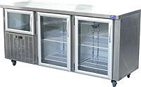 Glass Door Underbar Fridge