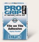 Pro Grip Tile on Tile Adhesive