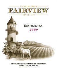 Fairview Barbera 2009 Wine